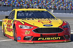 NASCAR Cup Breaking news Logano remains confident in team despite 2017 struggles