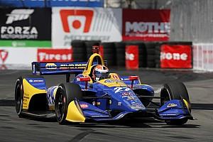 IndyCar Crónica de Clasificación Un inspirado Rossi vence a los Penskes para llevarse la Pole