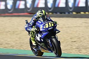 """Rossi se alegra com 3º: """"pude ser rápido a prova toda"""""""