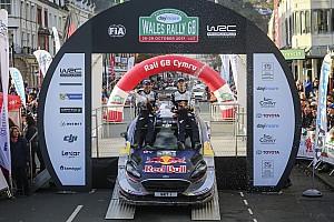 WRC Race report WRC Wales: Ogier rebut gelar kelima, kemenangan perdana Evans