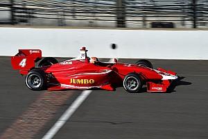 Indy Lights Testverslag Prima optreden Van Kalmthout bij Indy Lights-debuut