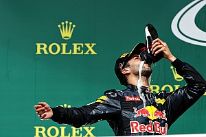 Formula 1 Breaking news Ricciardo voted Driver of the Day in German GP