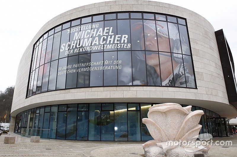 Schumacher's F1 career celebrated in new exhibition