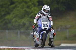 CIV Moto3 Gara CIV Moto3: Spinelli trionfa sul bagnato. Pagliani ancora leader