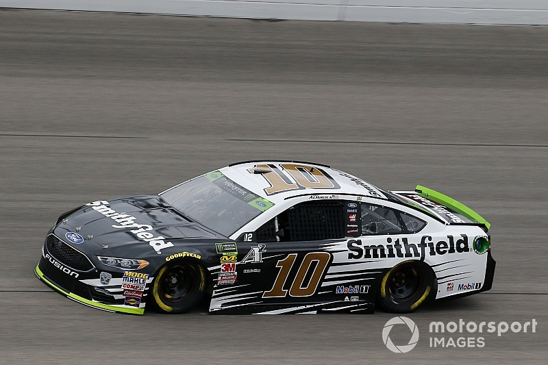 Aric Almirola fastest in Saturday's first Cup practice at Kansas