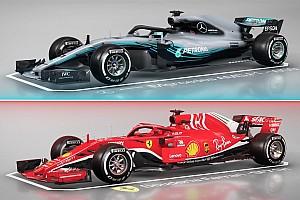 VÍDEO: Fique por dentro das diferenças entre Mercedes e Ferrari em 2018