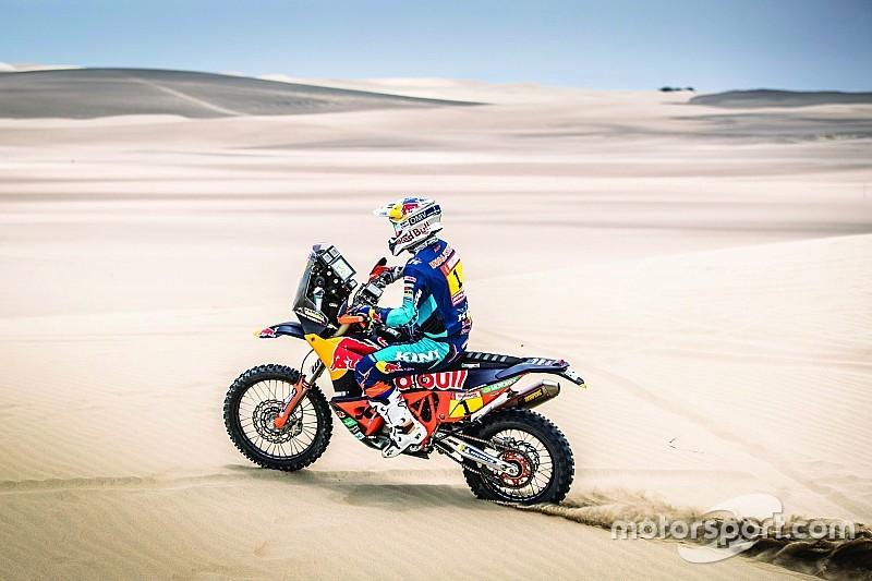 Dakar, Moto, Tappa 2: Walkner beffa Brabec, ma il leader è sempre Barreda