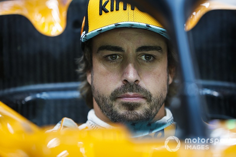 Alonso, aún con dolor por el brutal accidente de Spa