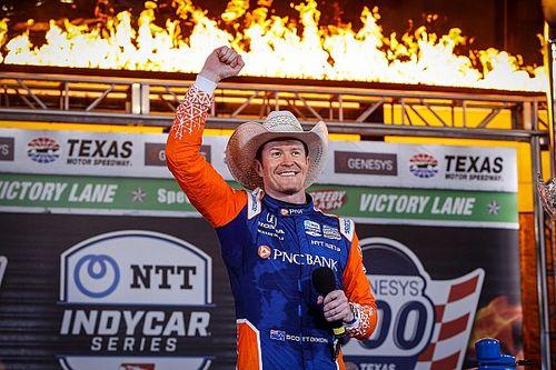 IndyCar: Dixon dominált Texasban, míg az újonc McLaughlin második lett