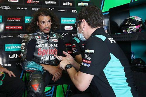 MotoGP: Lesão no joelho tira Morbidelli de corrida em Assen