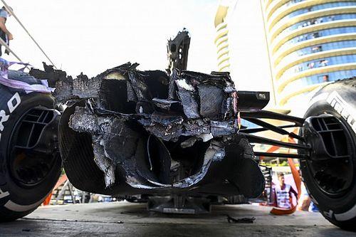 F1: Carro de Verstappen tem danos menores que esperado após análise