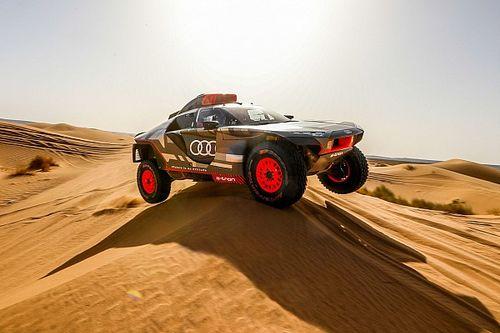 """Audi na eerste serieuze Dakar-test: """"Nog veel werk te doen"""""""