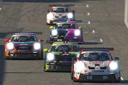 Gustavo Ariel e César Froener vencem na abertura do Porsche Esports Carrera Cup