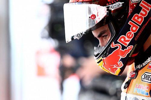 """Márquez: """"Non è sicuro che riesca a finire la gara domani"""""""