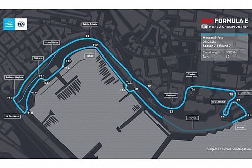 Formula E to race on adapted version of F1 Monaco circuit layout