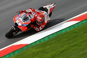 MotoGP Réactions Sensations positives et espoirs de podium pour Lorenzo