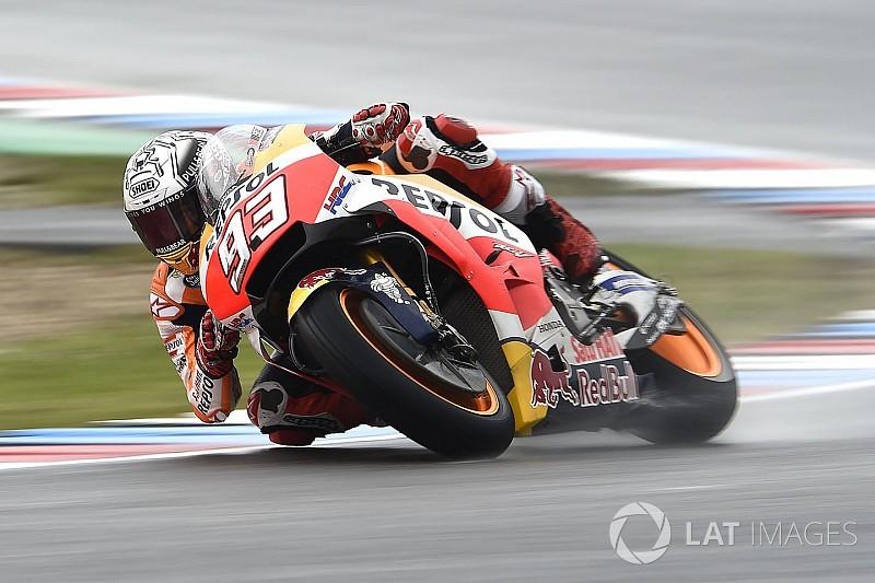 Márquez cree que su décimo puesto no refleja su potencial en Brno