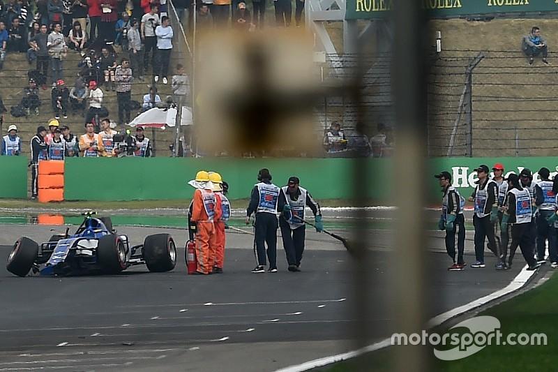 Grosjean et Palmer pénalisés sur la grille