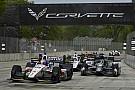 Animáción a 2018-as IndyCar-karosszéria
