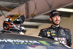 NASCAR Cup Race report Truex doubles down with Stage 2 victory at Dover