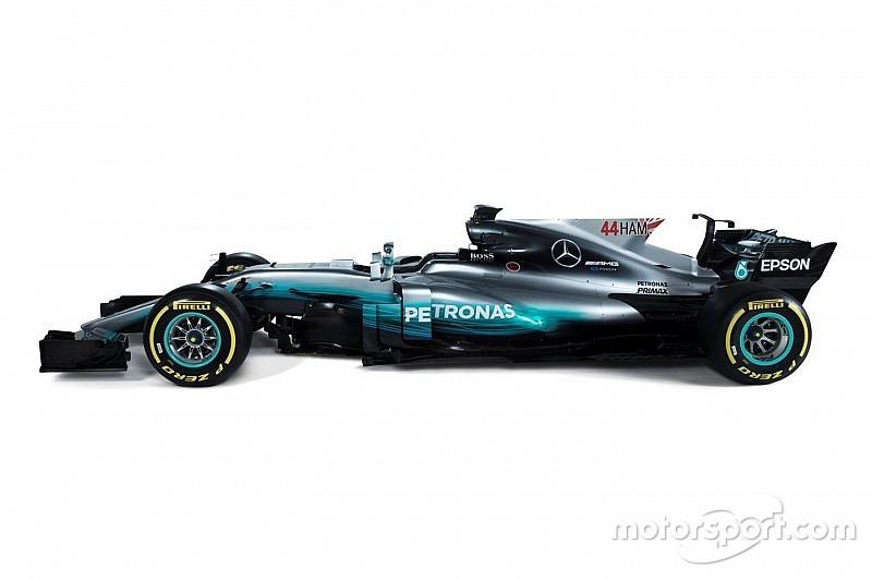 Mercedes perlihatkan format baru nomor mobil F1