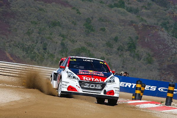World Rallycross Réactions Loeb :