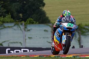 Moto2 Verslag vrije training Morbidelli ijzersterk in derde training op de Sachsenring