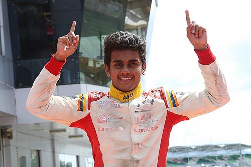Gowda secures Japanese F4 drive