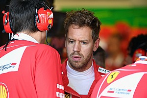 Formula 1 Interview Vettel: I felt I let Ferrari down in Hamilton Baku clash
