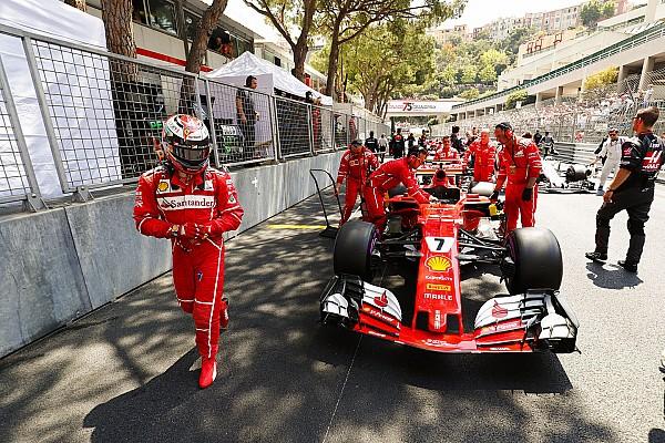 Формула 1 Новость «Меня позвали в боксы. Вот и все». Райкконен о поражении в Монако