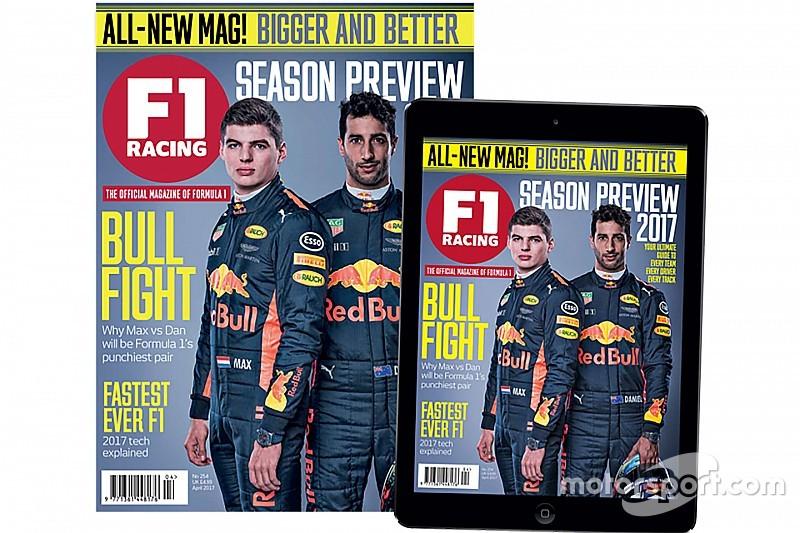 Motorsport Network обновила и улучшила журнал F1 Racing