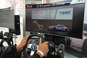 DTM Самое интересное На этапе DTM в Москве прошел виртуальный турнир: фоторепортаж