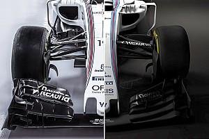 Formula 1 Special feature FW38 vs FW40: Perbandingan mobil F1 2016 dengan 2017