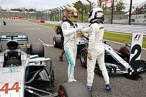 Formula 1 Top List Japanese GP: Starting grid in pictures