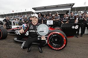 IndyCar News Pole-Sensation Wickens: