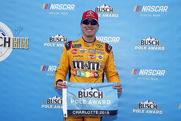 NASCAR Cup Qualifying report Kyle Busch earns pole position for the Coke 600 at Charlotte