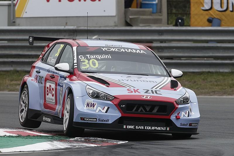 Tarquini in pole, Michelisz secondo. E' dominio Hyundai allo Slovakia Ring