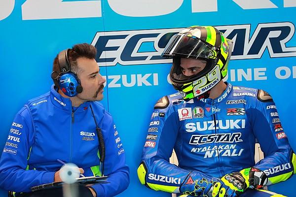 MotoGP Reactions Tercepat di hari pertama, Iannone puas dengan peningkatan Suzuki