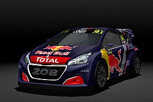World Rallycross Breaking news Peugeot unveils 2018 WRX car, retains Hansen brothers