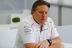 Formule 1 Actualités Zak Brown devient PDG de McLaren Racing
