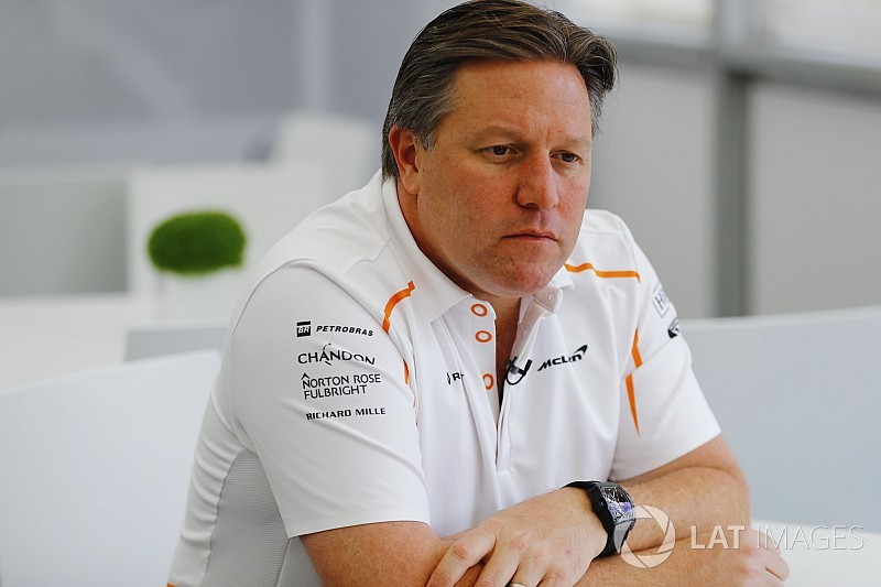 Zak Brown jadi CEO tim Formula 1 McLaren