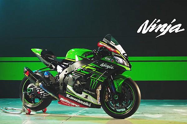 Superbike-WM News Kawasaki zeigt die Ninja für die WSBK-Saison 2018