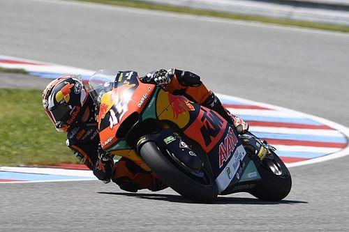 Moto2チェコ予選:ロバーツ、今季2度目のPP獲得。長島はQ1敗退で後方スタート
