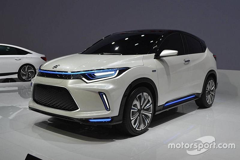 Honda презентувала електричний кросовер на основі HR-V