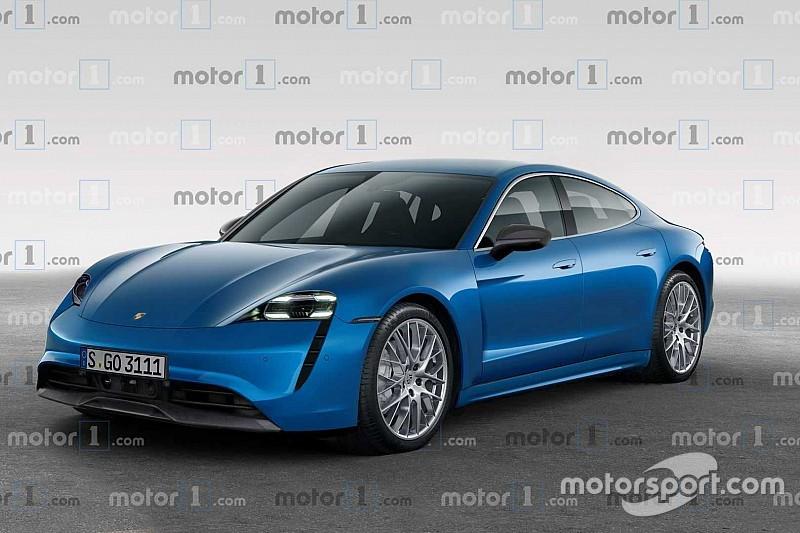 Рендер: як може виглядати 600-сильний Porsche Taycan