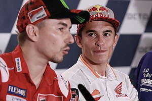 "Lorenzo ""grateful"" to Marquez for not blocking Honda switch"