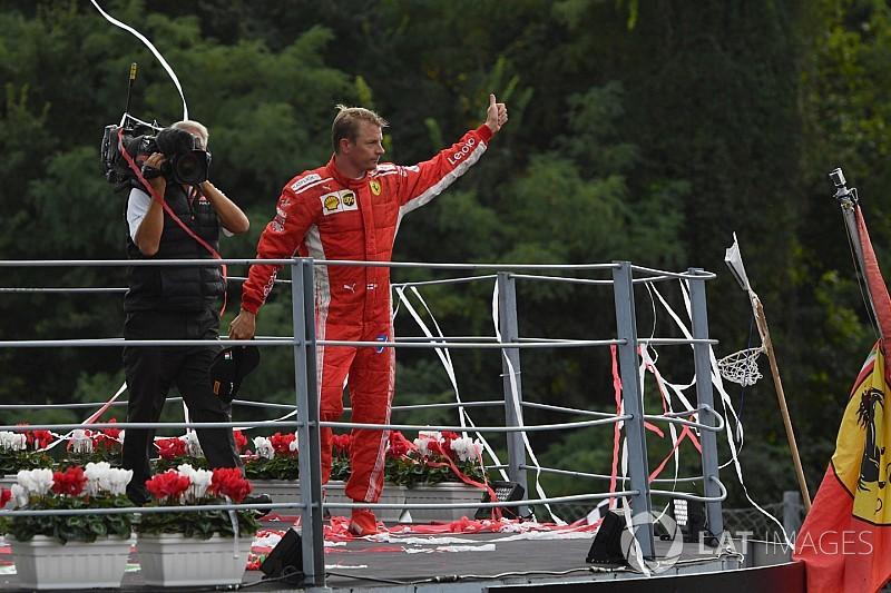 Fans crean petición en internet que pide a Ferrari mantener a Raikkonen