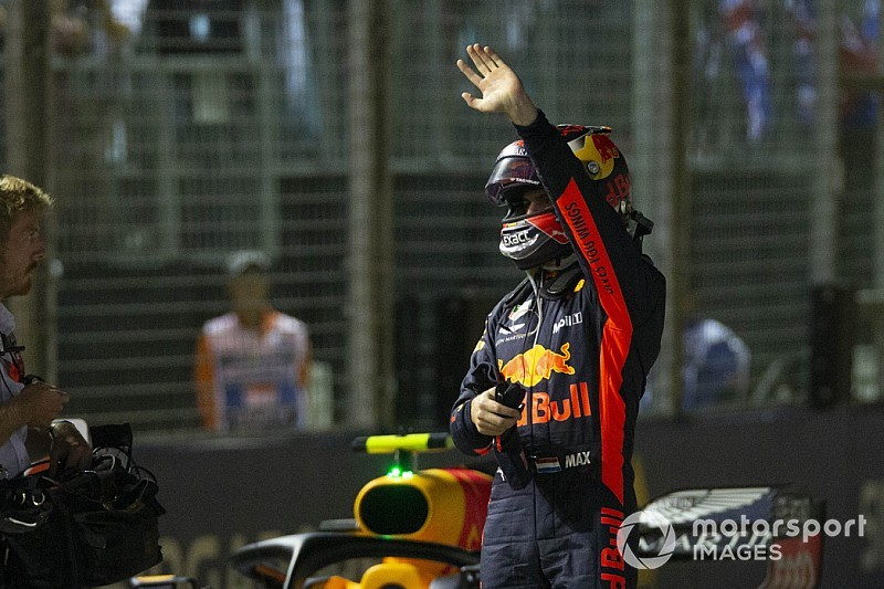 Max Verstappen elegido