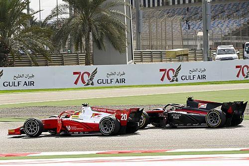 F2 Bahrein: suerte de campeón para Mick Schumacher, drama para Ilott