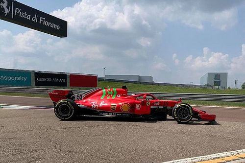 Ferrari: Schumacher e Ilott chiudono il test con la SF71H